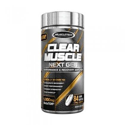 Clear Muscle Next Gen 84 softgel caps Muscletech