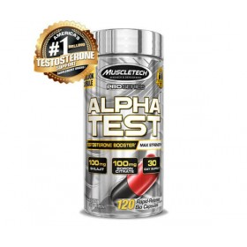Alpha Test Pro 120 caps Hormonal Natural Muscletech