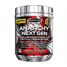 Anarchy Next Gen 30 dose performance Muscletech