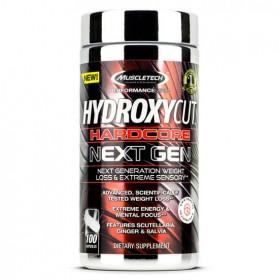 Hydroxycut Hardcore Next Gen 100 caps Muscletech