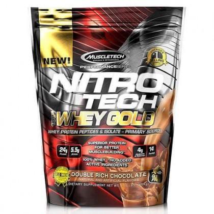 Nitro Tech 100 Whey Gold 454g Preço Portugal Muscletech