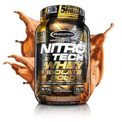 Nitro Tech Whey Plus Isolate Gold 907g Muscletech
