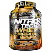 Nitro Tech Whey Isolate Gold 1800g Proteina Muscletech