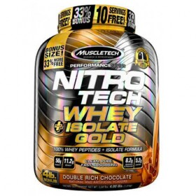 Nitro Tech Whey + Isolate Gold 1800g Proteina Muscletech