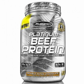 Platinum 100 beef protein 907g/ 2lb Muscletech
