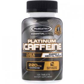 Platinum 100 Caffeine 220mg 125 tabs Tomar Muscletech