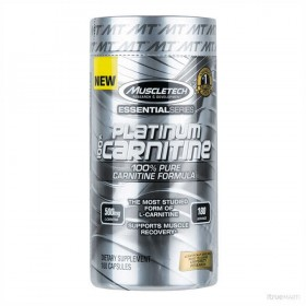 Platinum 100 Carnitine 180 caps Formula Muscletech