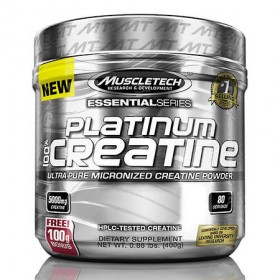 Platinum 100 creatine 400g micronized Muscletech