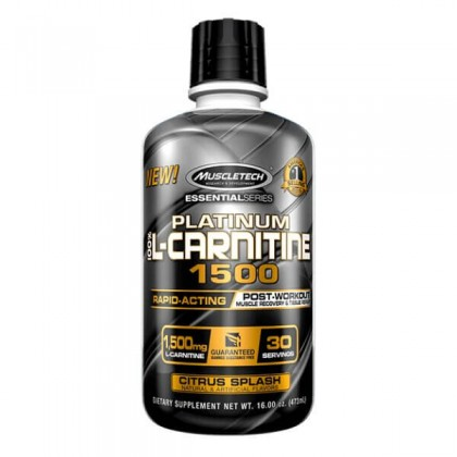 Platinum 100 L-Carnitine 1500 473ml Muscletech