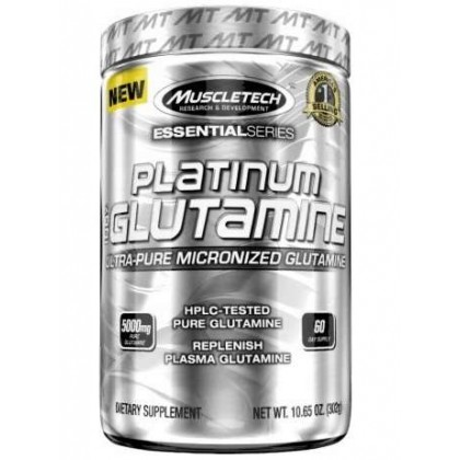 Platinum 100 pure glutamine 302g Muscletech