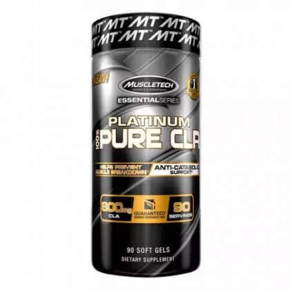 Platinum 100 Pure CLA 90 caps Muscletech - CorposFlex