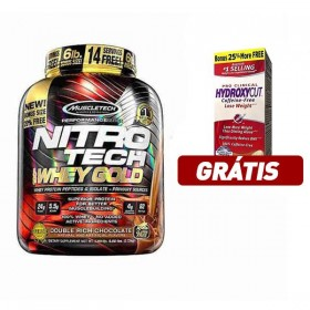 Nitro Tech 100 Whey Gold 2.72kg 6lb Muscletech