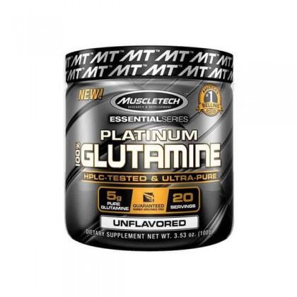 Platinum 100 Glutamine 20 doses 100g Muscletech