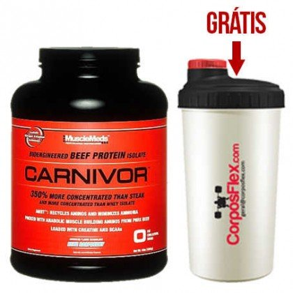 Carnivor 2.1kg beef protein isolate Musclemeds