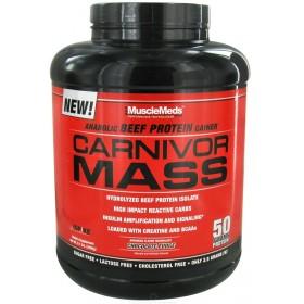 Carnivor Mass 2.5kg Beef Protein Gainer MuscleMeds