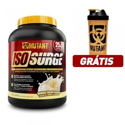 Iso Surge 2273g 2.27kg Whey Protein Isolada Mutant