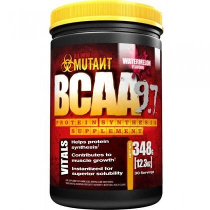 BCAA 9.7 384g 30 servings Efeitos Mutant