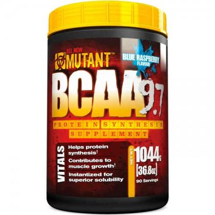 BCAA 9.7 1044 g - 1kg efeitos Mutant