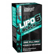 Lipo 6 Black Hers Ultra 60 caps Mulheres Nutrex