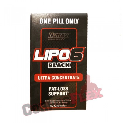 Lipo 6 black ultra concentrate 60 caps Nutrex