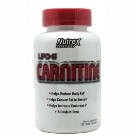 Lipo 6 Carnitine 120 liquid Caps Nutrex