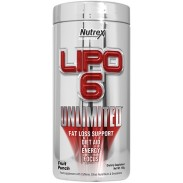 Lipo 6 Unlimited Powder 150g Nutrex Research
