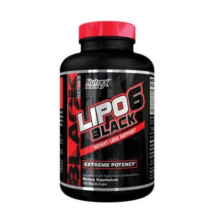 Lipo 6 Black 120 caps Nutrex research