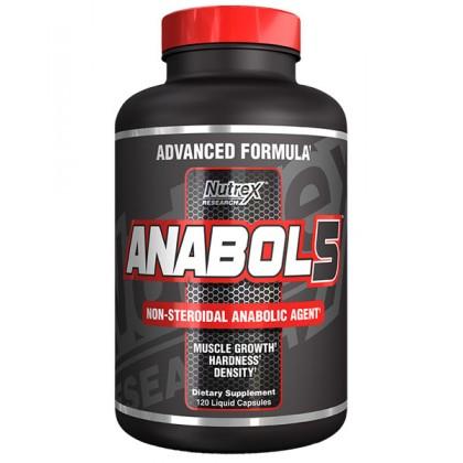 Anabol 5 Black 120 caps Liquidas Nutrex