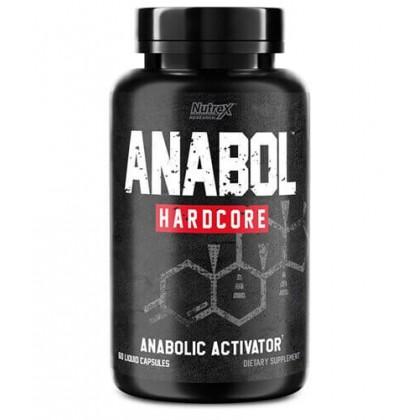 Anabol Hardcore 60 Liquid Capsulas Nutrex - CorposFlex