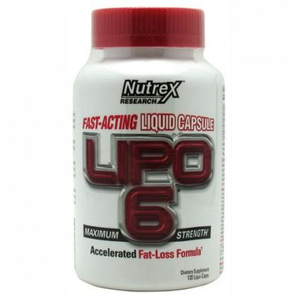 Lipo 6 120 liquid caps - Perder Barriga - Nutrex