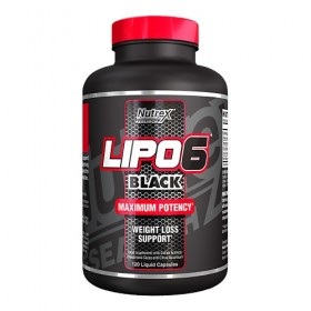 Lipo 6 Black 120 caps Nutrex research