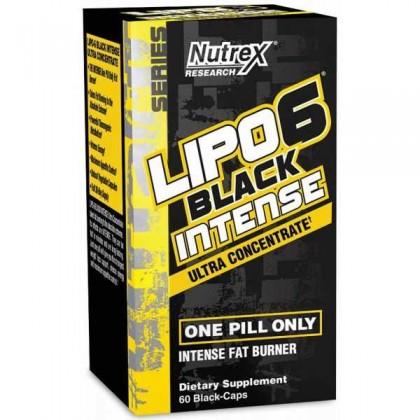 Lipo 6 Black Intense Ultra Concentrate 60 caps Nutrex