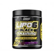 Lipo 6 Black Training 30 Servings Treino Nutrex
