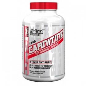 Lipo 6 Carnitine 120 Liquid Caps Nutrex