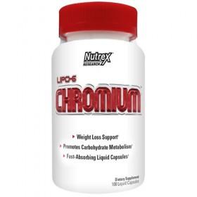 Lipo 6 Chromium 100 caps 200mcg tomar Nutrex