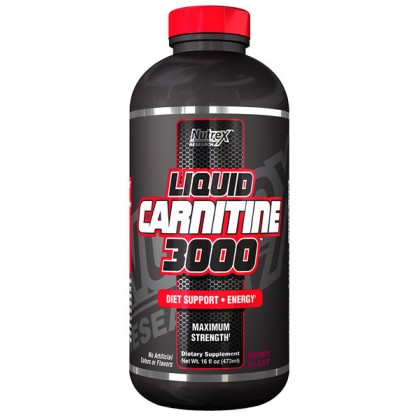 Liquid carnitine 3000 473ml Nutrex