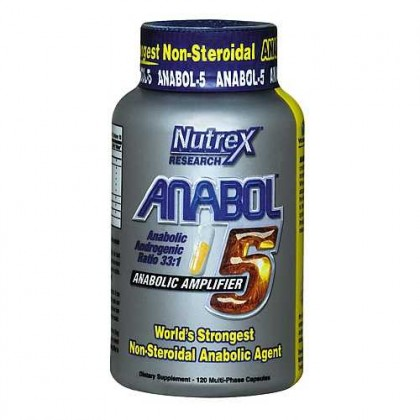 Anabol-5 120 caps Nutrex Research