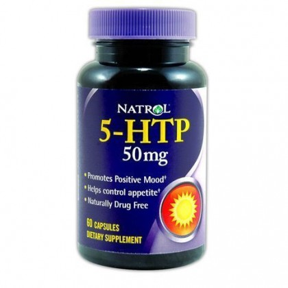 5-htp 50 mg 60 capsulas Natrol