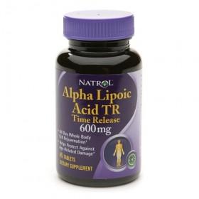 Alpha Lipoic Acid tr 600mg 45 tabs ALA Natrol