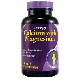 Calcium Magnesium 120 tabs Natrol
