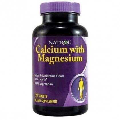 Calcium with Magnesium 120 tabs Natrol
