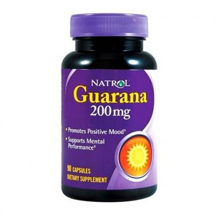 Guarana Extrato 90 caps 200mg Natrol