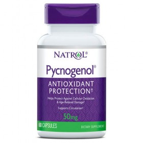 Pycnogenol 50mg 60 caps para que serve Natrol