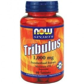 Tribulus 1000mg 90 tabs Now Foods