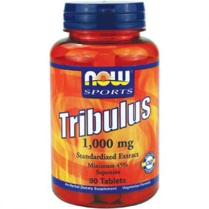Tribulus 90 tabs 1000mg Preço Now Foods