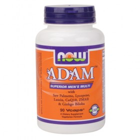 Adam 60 caps Men's Multivitamin Now Foods