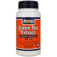 Green Tea Extract 100 caps Chá Verde NOW Foods