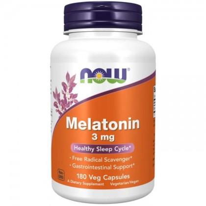 Melatonina 3mg 180 Caps Preço Now Foods - CorposFlex