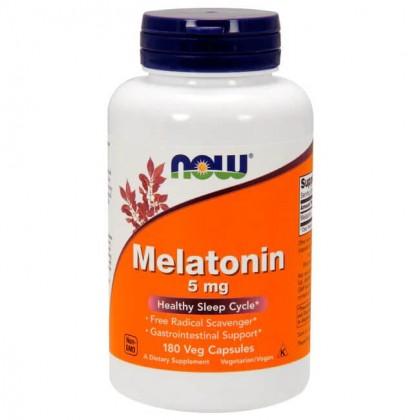 Melatonina 5mg 180 Caps Preço Now Foods - CorposFlex