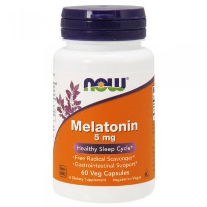 Melatonin 5mg 60 caps Comprar Preço Melatonina Now Foods